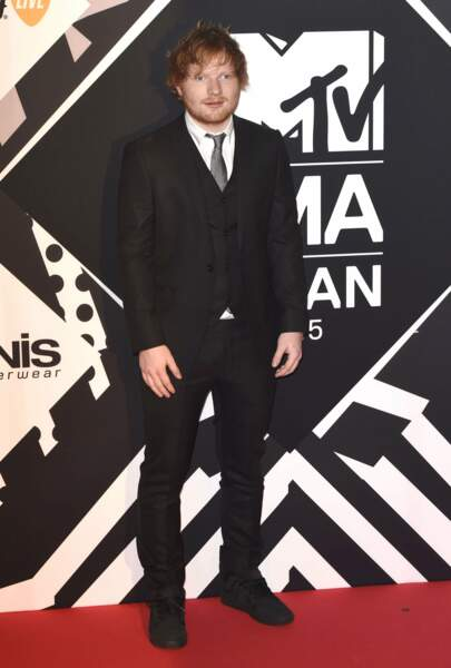 Ed Sheeran, le présentateur des MTV EMA 2015
