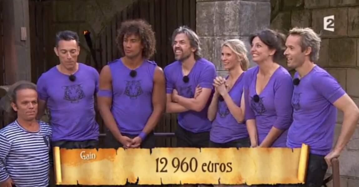 Mais le principal, c'est qu'ils ont gagné des boyards pour l'association... et qu'ils sont heureux !