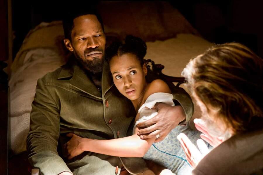 La jeune femme a également tourné dans Django Unchained (2012)