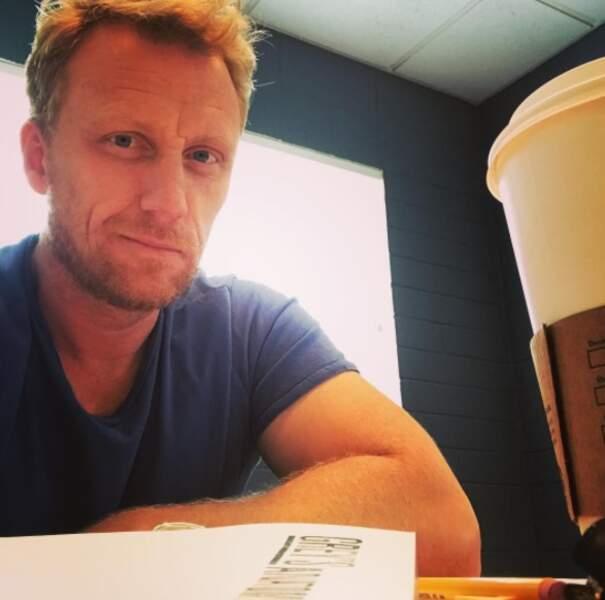 Kevin McKidd, son mari de fiction, lui est déjà sur le pont pour réaliser un épisode !