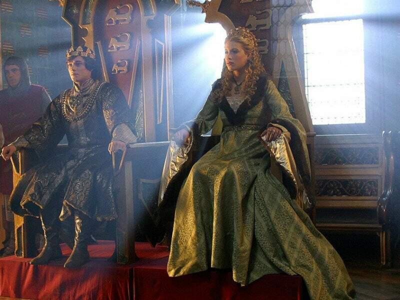 Sur le trône des Rois Maudits, diffusés en 2005 sur France 2