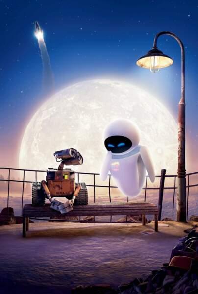 Entre deux robots : Eva et Wall-E dans le chef d'œuvre d'animation Pixar (2008)