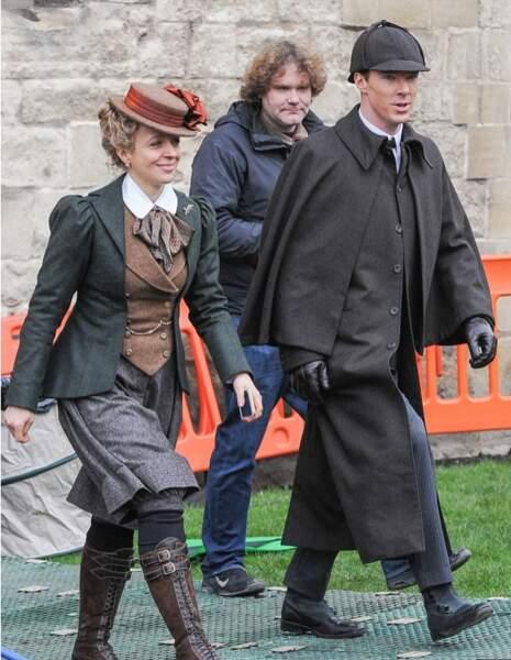 Sherlock et Molly en pleine discussion