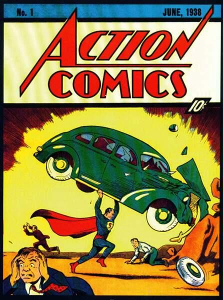 Des collants bleus, une cape et un slip rouges et une force surhumaine ? Pas de doute, c'est Superman !