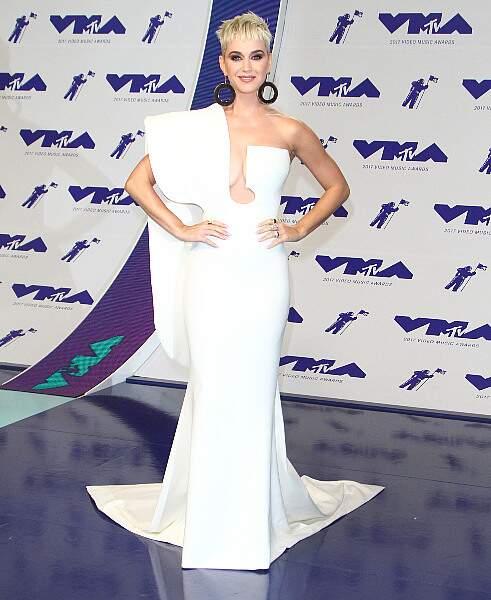 Katy Perry, la maîtresse de cérémonie des MTV Video Music Awards 2017