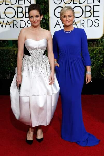 Tina Fey et Amy Poehler, maîtresses de cérémonie des Golden Globes