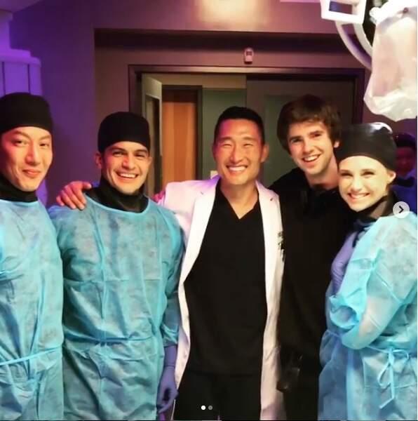 Depuis, il produit la série Good Doctor, dont il a aussi rejoint le casting dans la saison 2