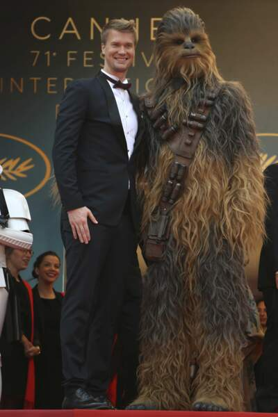 Joonas Suotamo et Chewbacca