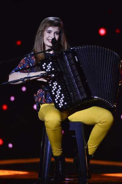 Estelle Mazillo, 16 ans, talent de l'équipe de Zazie