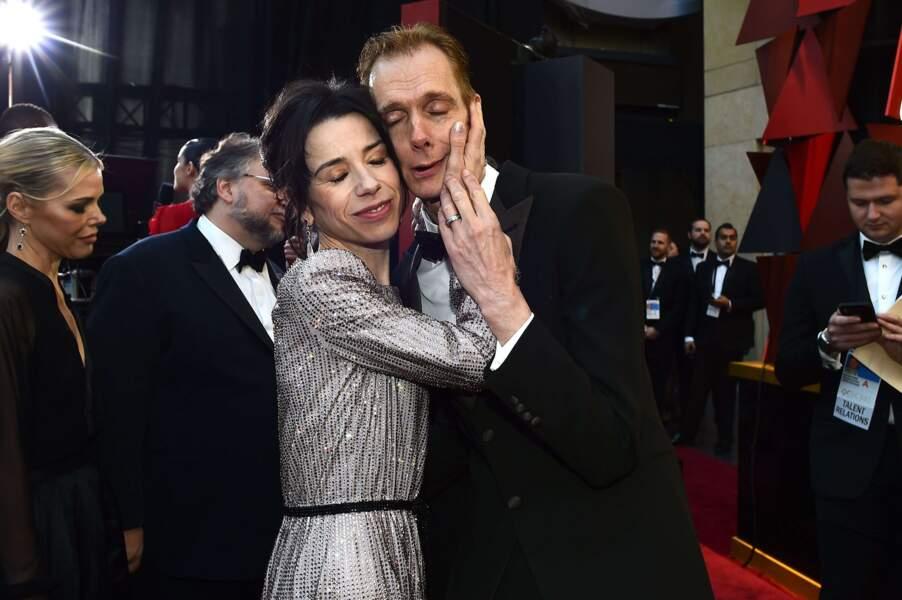 Les Oscars de l'amour (Sally Hawkins et Doug Jones)