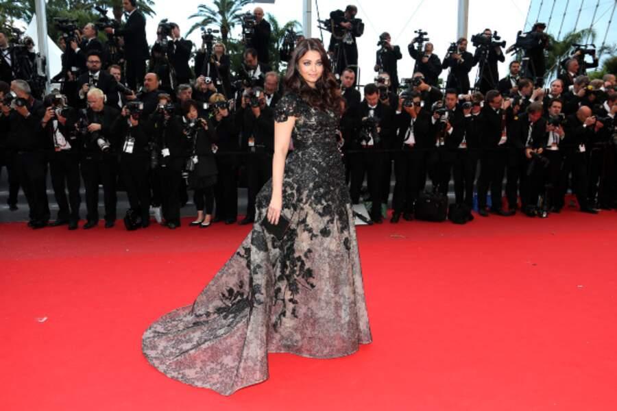 L'actrice indienne et égérie L'Oréal Aishwarya Rai