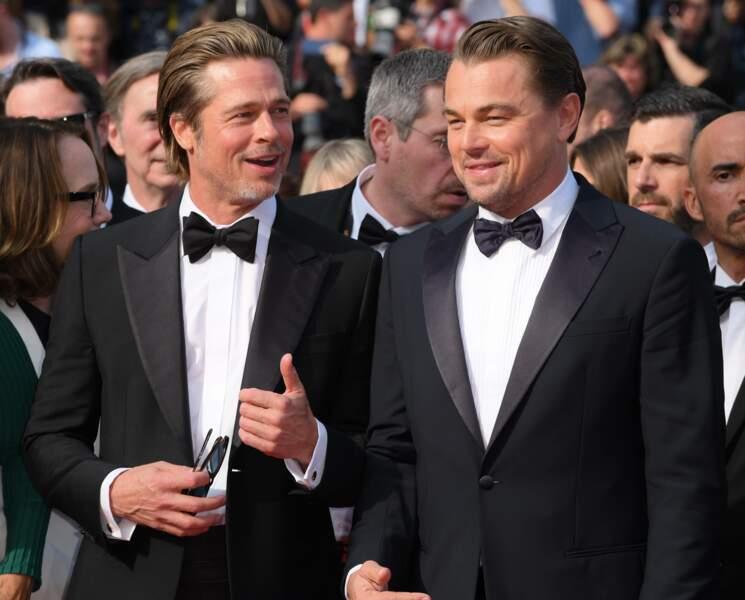 Et il a l'air de beaucoup faire rire Leonardo DiCaprio !