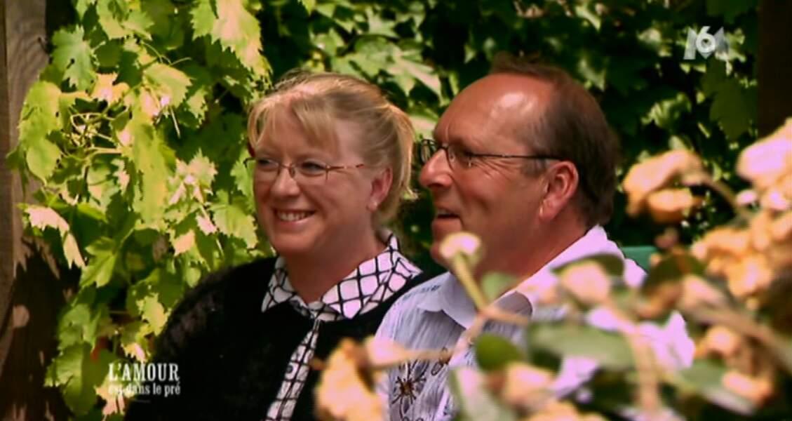 Et l'agriculteur parle même de mariage avec sa belle !