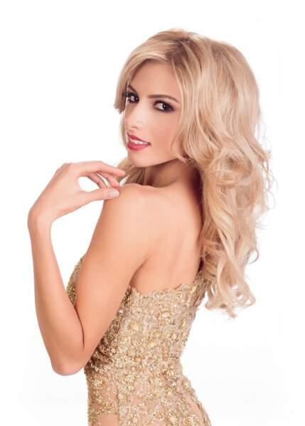 Gabriela Ordonez, Miss Honduras 2014