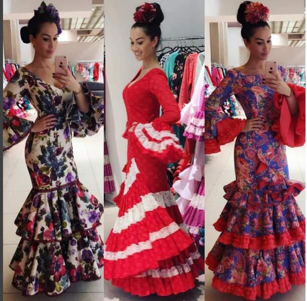 Sidonie à la mode sévillanne, Olé !