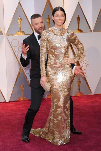 Jessica Biel et Justin Timberlake, couple sexy et fun