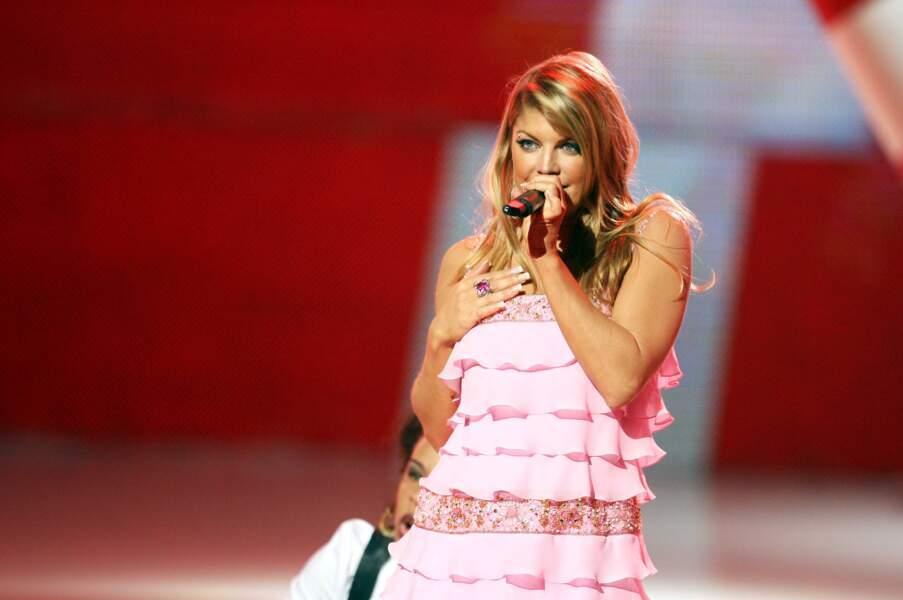 Fergie sans les Black Eyed Peas en 2007