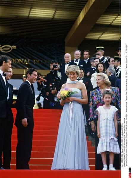 1987 : Lady Diana vole la vedette aux plus grands acteurs l'espace d'une journée