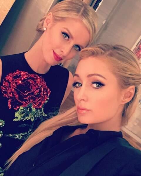 Mais on peut dire la même chose de Paris Hilton et sœur Nicky !