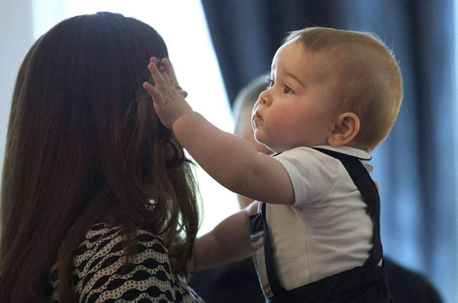 """""""Oh maman, comme tes cheveux sont doux""""..."""