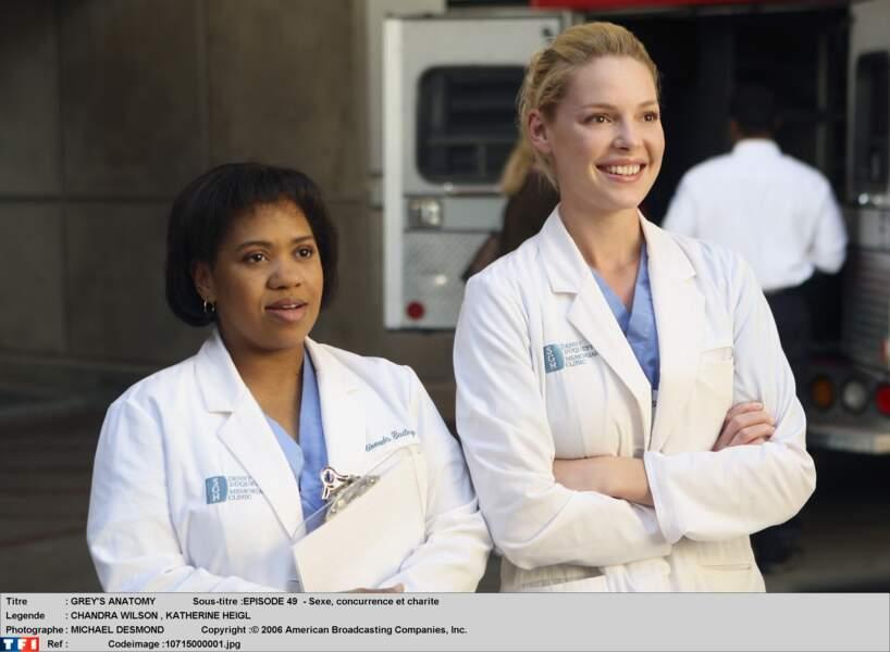 Dr. Izzie Stevens (2005-2010) : très populaire dans la série, Katherine Heigl se sent pousser des ailes