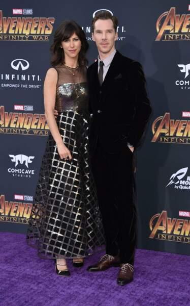 "Robe ""strange"" pour Sophie Hunter, la femme du ""Doctor Strange"" Benedict Cumberbatch"