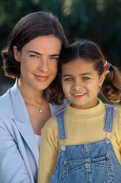 Delfine Rouffignac était Clara, la fille adoptive de Benjamin et Laure. Elle est revenue dans la suite de la série