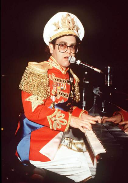 Flambloyant lors d'un concert à Londres dans les années 70