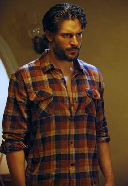 """""""Homme le plus sexy de 2014"""" selon le magazine People, Joe Manganiello incarne le beau Alcide dans True Blood."""
