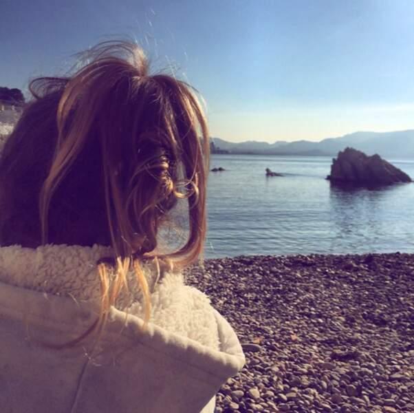 Laure Manaudou à la plage