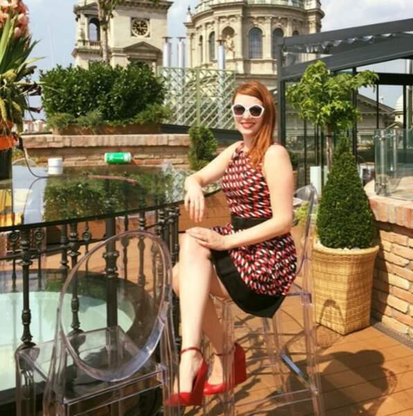 Répéter avec l'orchestre symphonique ou bronzer sur un toit à Budapest ? (Elodie est finalement allée répéter)