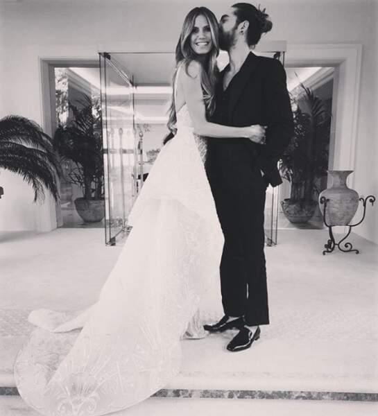 Trop mignon : c'est l'amour fou entre Heidi Klum et Bill Kaulitz de Tokio Hotel.