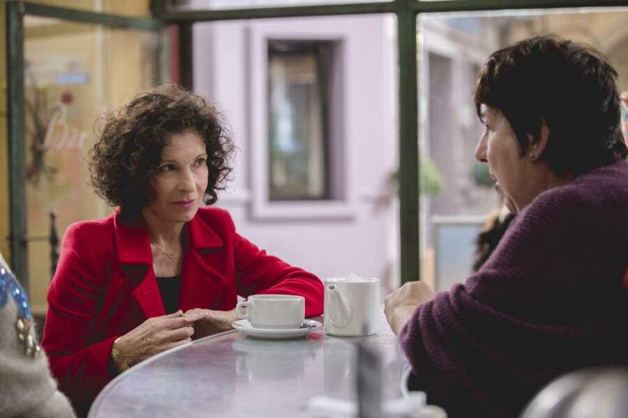 Quinze ans plus tard, Mirta est toujours fidèle au poste pour les conversations du Mistral