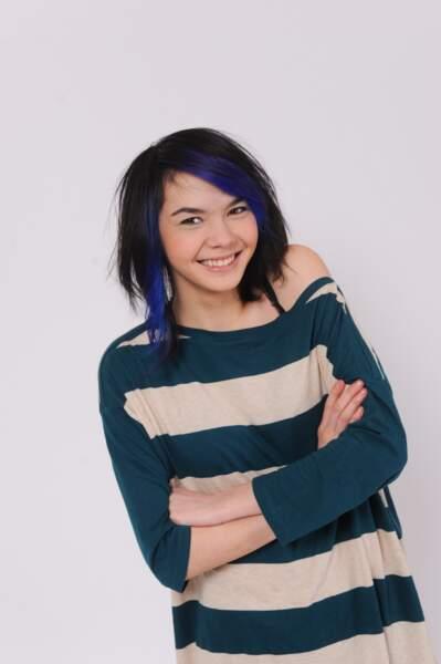 Sophie-Tith, 16 ans, finaliste de Nouvelle Star
