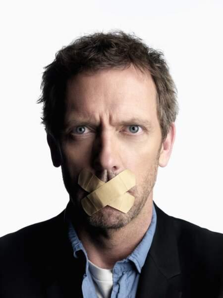 Greg House n'est pas un gros bavard, et c'est pas plus mal !