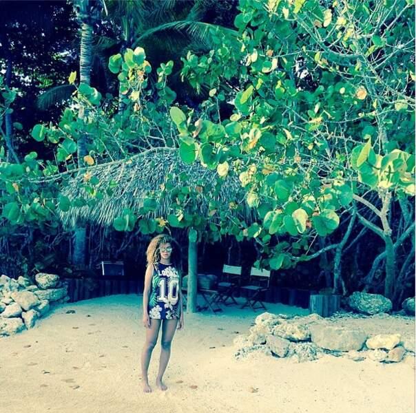 On donnerait tout pour être sur cette plage de rêve avec elle