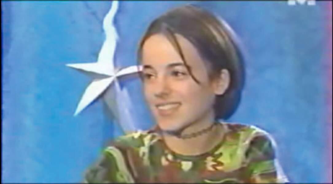 Autre participante de Graines de star, la petite Alizée a tout juste 15 ans, elle aussi