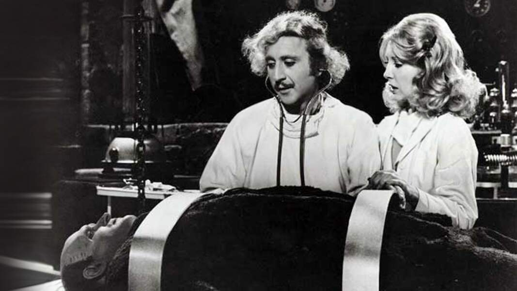 Dans Frankenstein junior (1974), c'est le petit-fils du professeur qui tente de créer un être vivant
