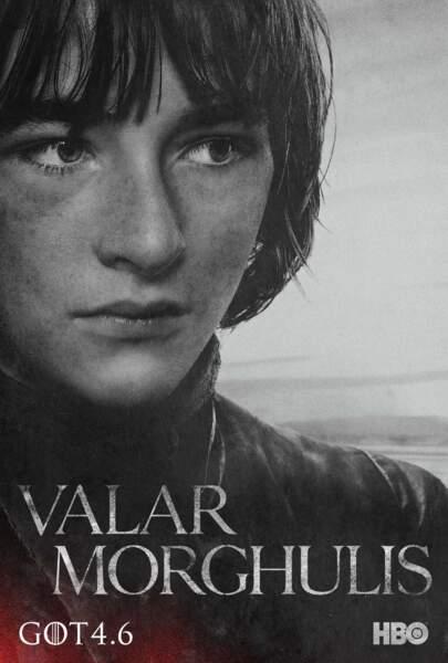 Isaac Hempstead-Wright est Bran Stark, fils d'Eddard Stark et Catelyn Tully