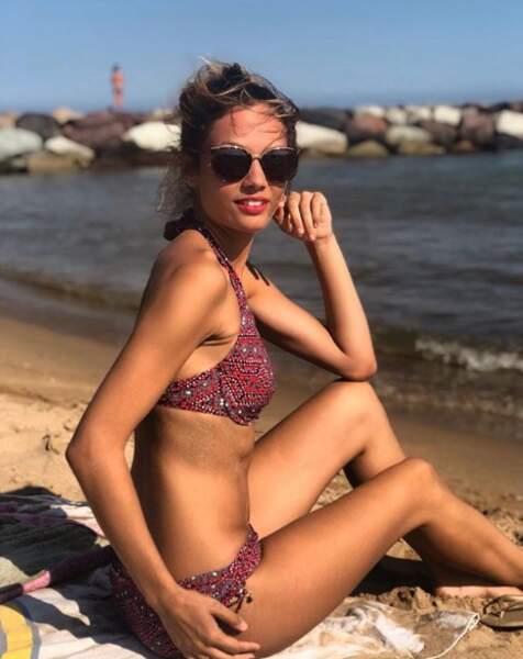... ou tout simplement en profitant du soleil à la plage !