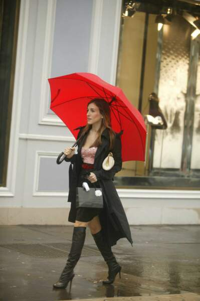 Carrie Bradshaw dans la série Sex and the City
