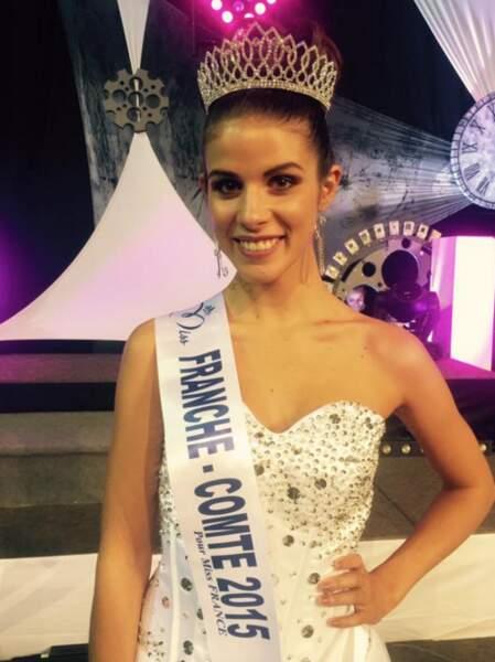 Alysée Vannier est la miss Franche-Comté 2015