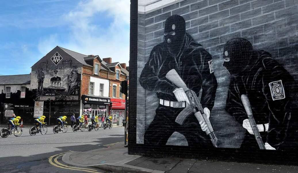 L'ombre de l'IRA a plané sur le Giro....