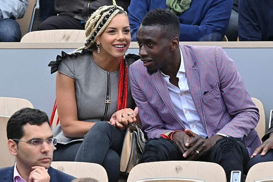 Le champion du monde Blaise Matuidi et son épouse Isabelle sont également venus en amoureux