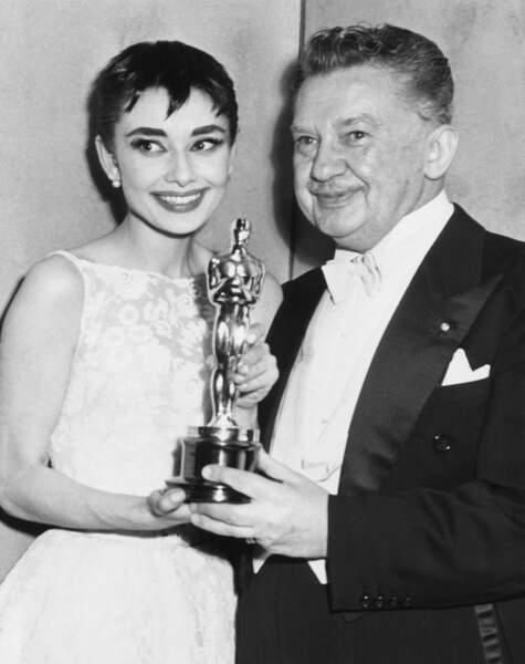 1953 est en effet une grande année, elle reçut l'Oscar de la meilleure actrice...