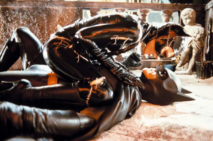 Batman face à Catwoman dans Batman, le défi (1992)