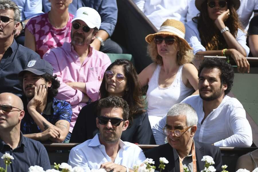 Amir et Cristiana Reali, très concentrés sur la partie