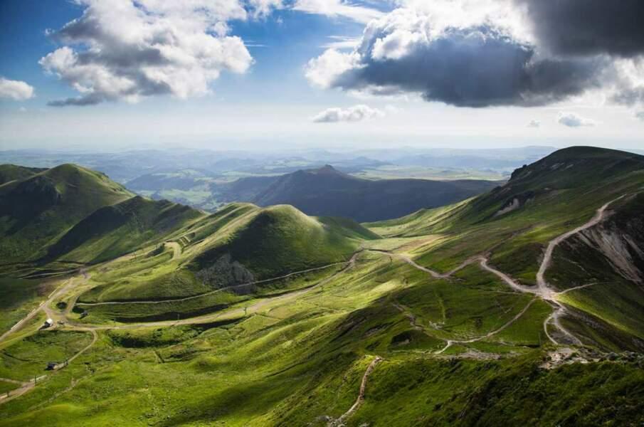 Ils sont également allés visiter l'Auvergne...