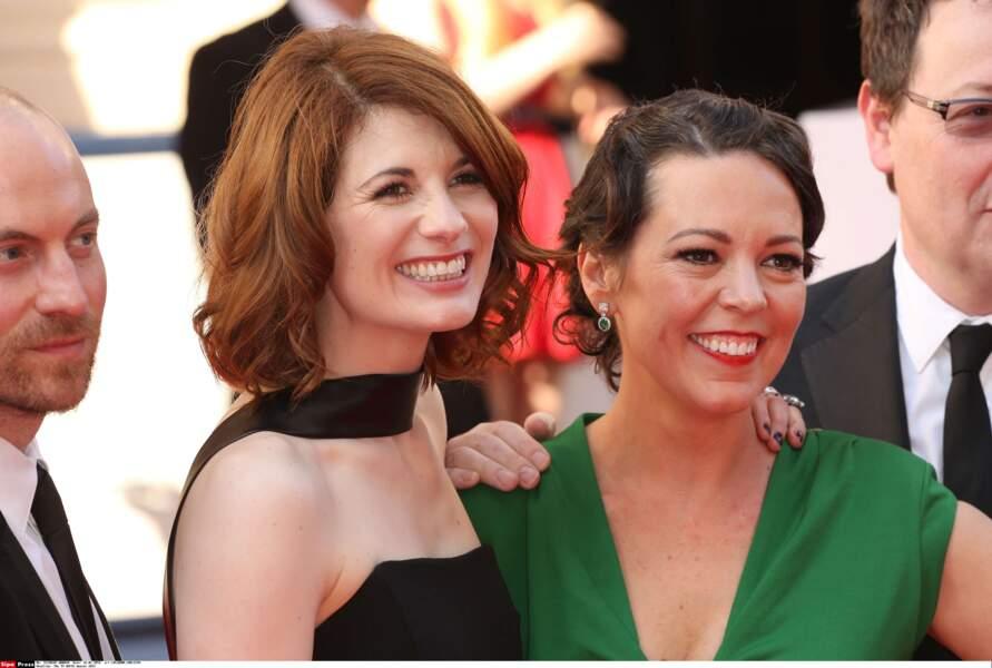 Les deux actrices incarnent deux personnages féminins très forts de la série