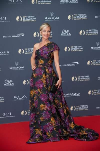 Rebecca Hampton, très élégante, a fait honneur aux festivaliers